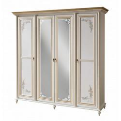 Шкаф 4- х дверный Принцесса