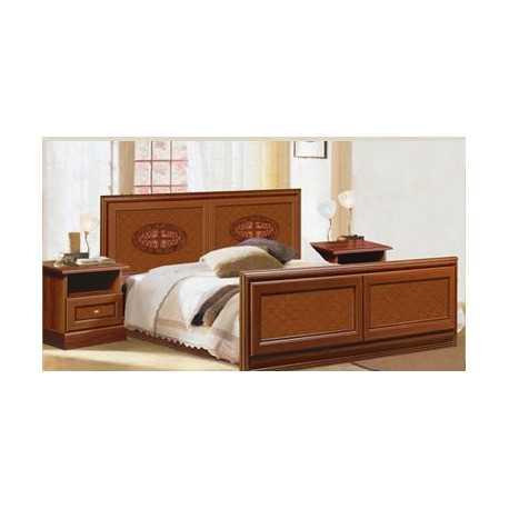 Кровать С-3 орех