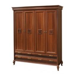 Шкаф 4х дверный ЛАУРА НОВА