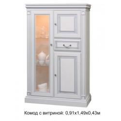 Комод с витриной Набукко
