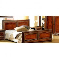 Кровать двухспальная 1,60 (ОРЕХ) ТЕRRА Скай