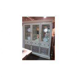 Витрина 3-х дверная вариант №2 Тоскана НОВА Скай