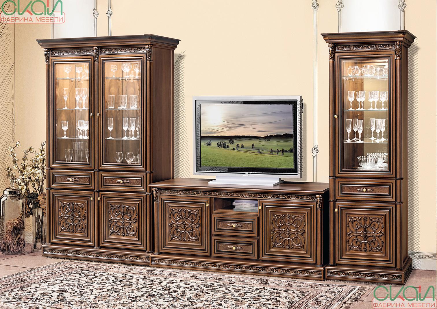 мебельв гостиную Тоскана