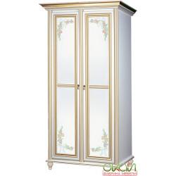 Шкаф 2-х дверный Принцесса