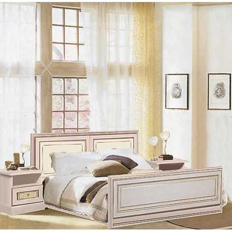 Кровать С-3 бежевый Гоа