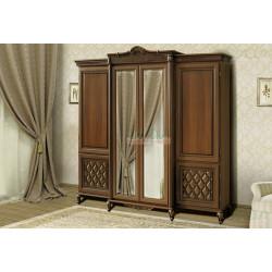Шкаф 4-х дверный Novita