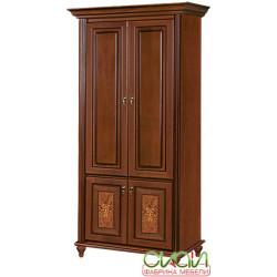 Шкаф 2-х дверный Верона (орех)