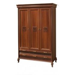 Шкаф 3-х дверный ЛАУРА НОВА