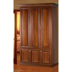 Шкаф 3-х дверный 2,29 TERRA орех