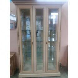 Витрина 2-х дверная с зеркалом TERRA