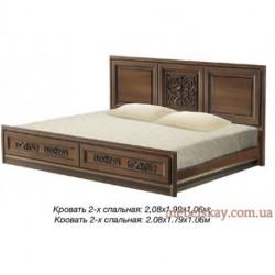 Кровать 2-спальная №2 Тоскана Нова