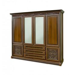 Шкаф 4-дверный Тоскана