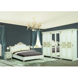 Комплект спальни Аманда с 6-ти дв. шкафом