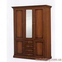 Шкаф 3-дверный 1.62 зеркало Набукко