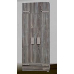 Шкаф 2-дверный с антресолью Адель