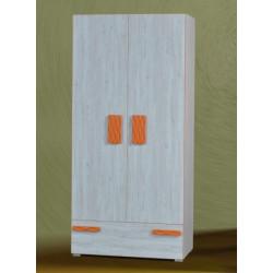 Шкаф 2-дверный Адель (аляска/3)